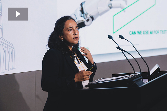Putting AI to Test. Shalini Chaudhari, Managing Director, Technology, Accenture